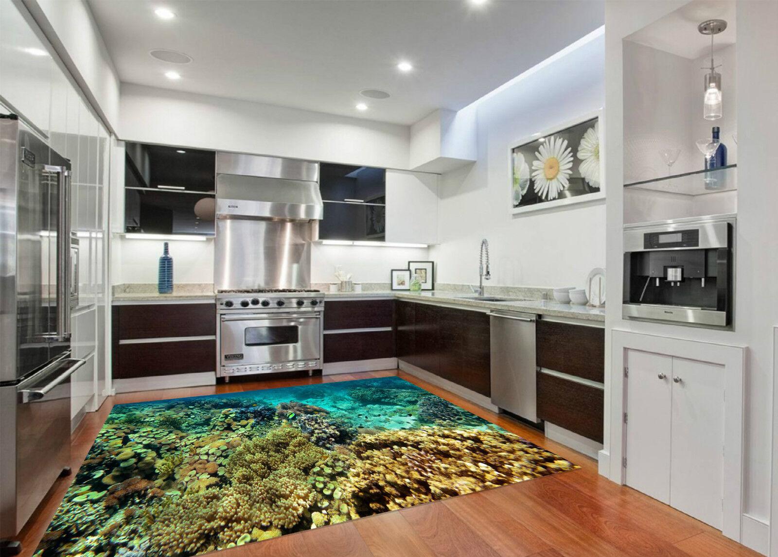 3D Fond Marin Corallien 088 Décor Mural Murale De De Murale Mur De Cuisine AJ WALLPAPER FR 90e5fe