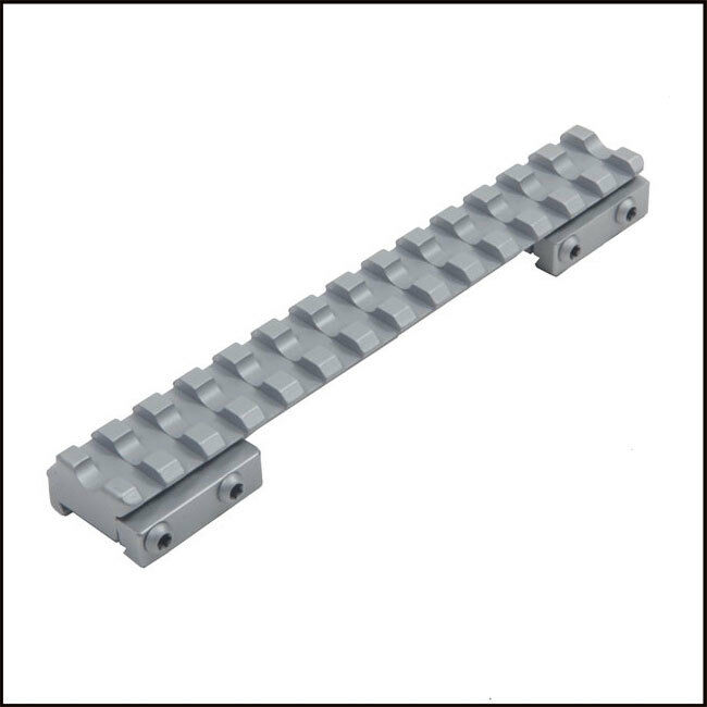 Contessa Chromed Steel Picatinny Rail for Sako 75 85 Medium (10 MOA) Scope Mount