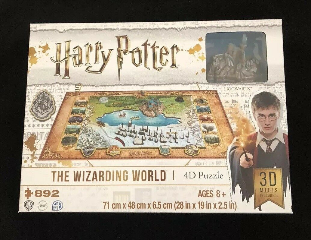 Harry Potter 4d Puzzle - Wizarding World - 3D Models - Cityscape - Jigsaw Gift