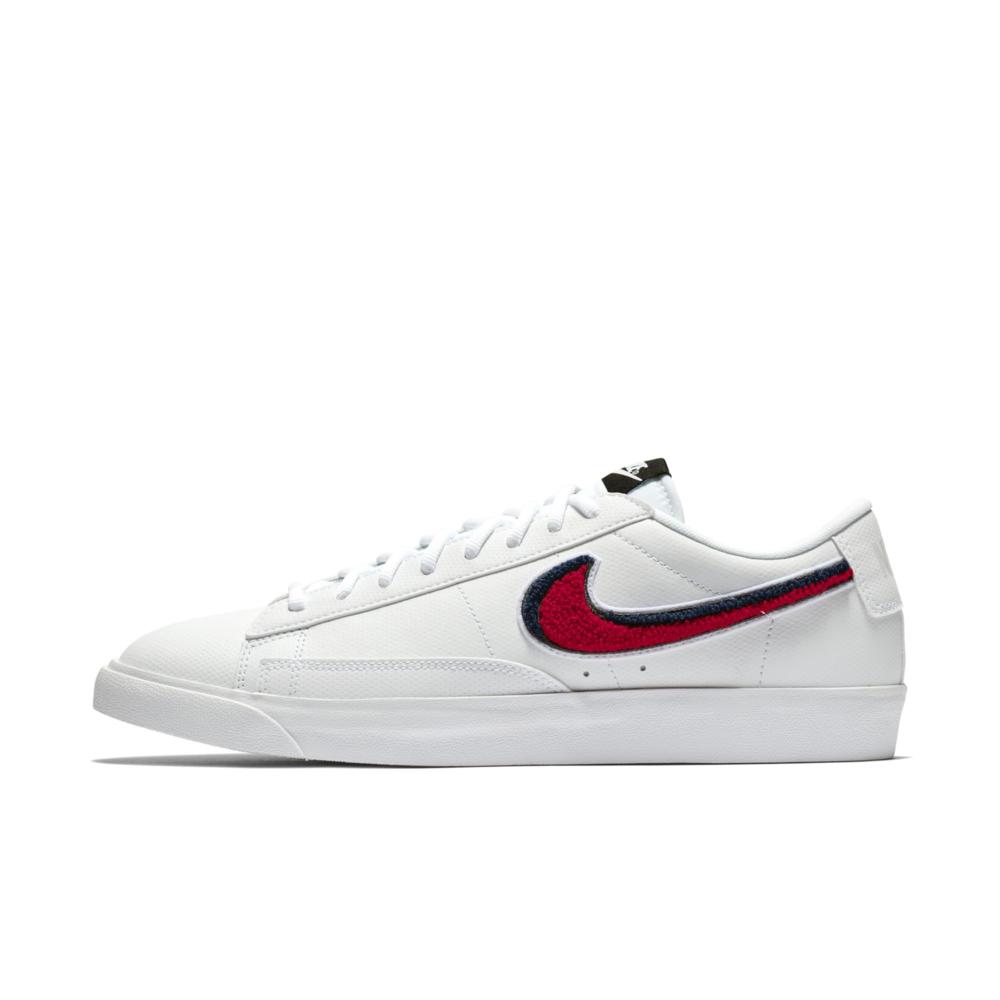 Nike Blazer Low 3D Men's Size Size Size 8 Women's 9.5 White University Red bluee AV6964-100 f19651