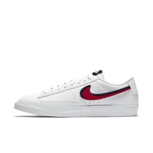 Nike-Blazer-Low-3D-Men-039-s-Size-8-Women-039-s-9-5-White-University-Red-Blue-AV6964-100