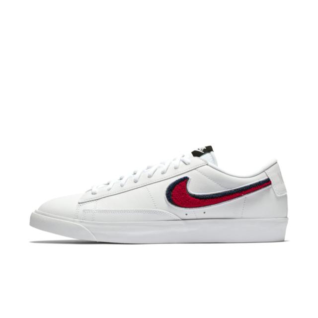 61c9fa552e Nike Blazer Low 3D Men's Size 8/Women's 9.5 White/University Red/Blue  AV6964-100
