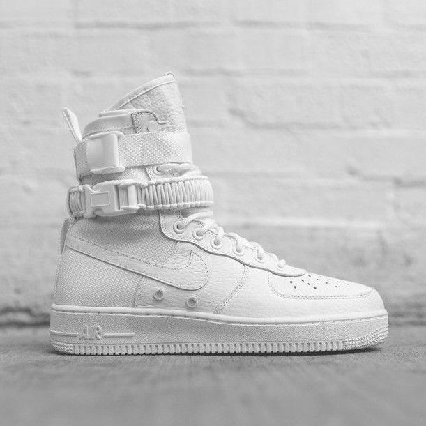2018 NIKE AIR Force 1 High SF AF1 SZ 9.5 Special Field White