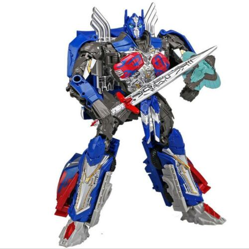 "8/"" Movie The Last Knight Large Truck Optimus Prime Robot Action Figure Kid Gift"