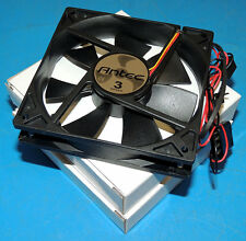 Lot 2 NEW Antec Tricool Fan 4-Pin 120mm with 3-Speed Micro Switch AT-12/SC