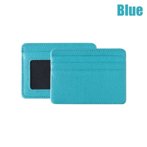 Leather Travel Coin Bag Card Package Wallet Case Money Pocket Id Card Holder