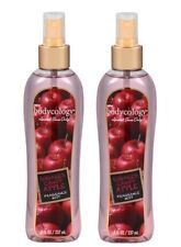2 BODYCOLOGY SUGARED CANDY APPLE BODY SPRAY FRAGRANCE MIST FREE SHIPPING US RARE