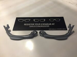 New Oakley Racing Jacket Jawbone Fog Grey Replacement Jaws