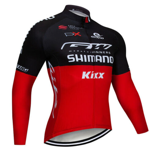 Men Long Sleeve Cycling Jersey MTB Bike Shirt Jacket Clothing Motorcycle Sports