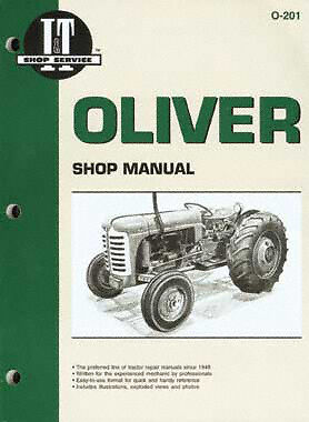 I/&T Oliver Manual Covers 66 77 550 770 950 995 /& More!