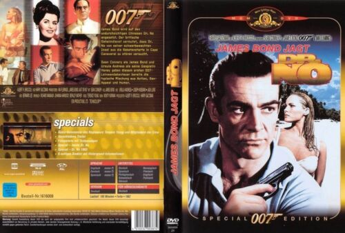 1 von 1 - James Bond 007 - James Bond jagt Dr. No, Sean Connery, Ursula Andress, DVD