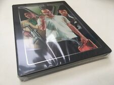 Xbox 360 Grand Theft Auto V GTA5 Limited Collectors Steelbook Edition New/Sealed