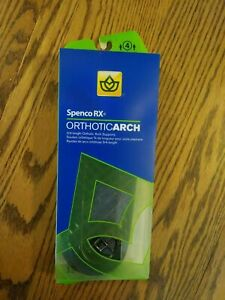 NEW Spenco Rx Orthotic Arch Support 3//4 Length Shoe Insoles ALL Sizes