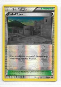 Pokemon --- FADED TOWN --- XY Ancient Origins!! REVERSE HOLO!! MINT!! 73/98
