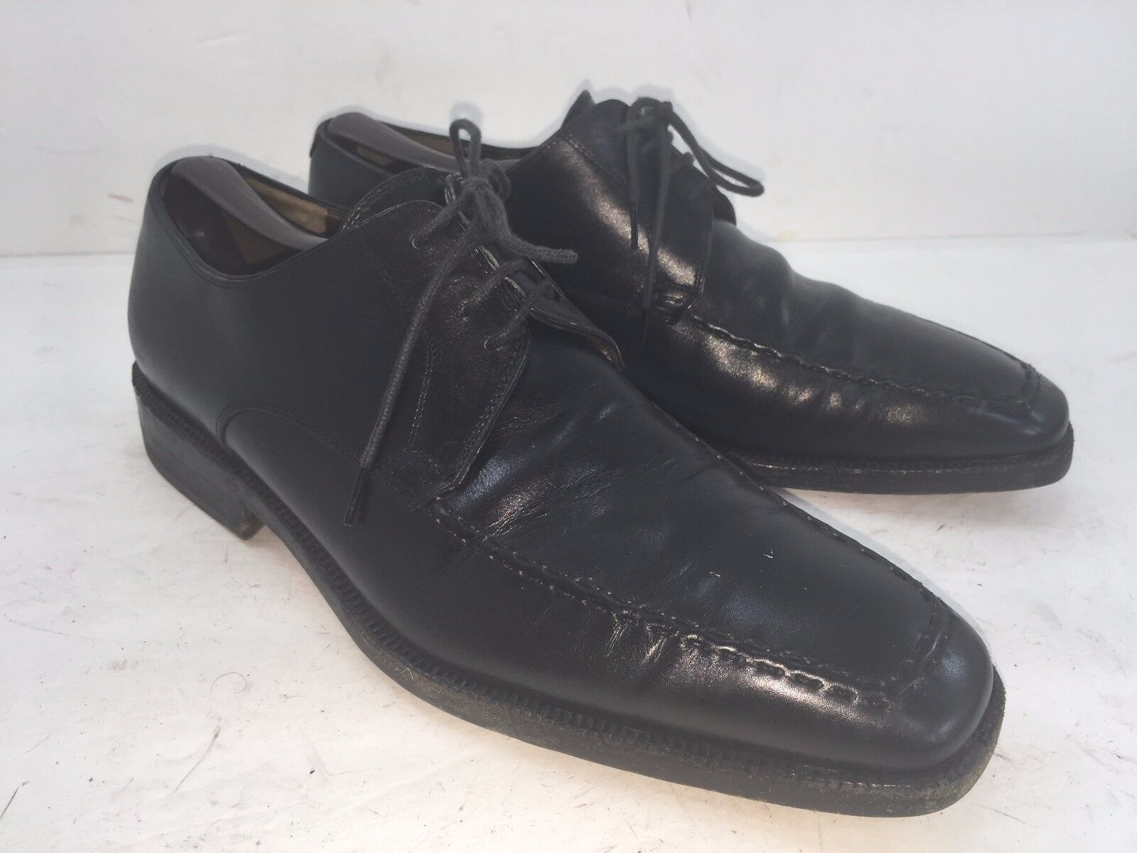 FRATELLI ROSSETTI MADE IN ITALY IN GREAT CONDITION UK 8.5 (USA 9.5) schwarz