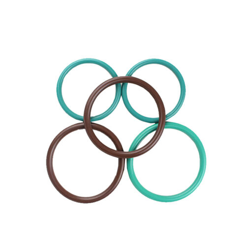 Ø2mm Querschnitt Fluorine Gummi FKM Dichtring O-Ring Dichtungen Oil Seal Washer
