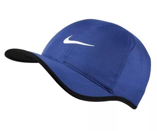 Nike Aerobill Featherlight Dri-Fit  Game Royal Unisex Tennis Cap Hat 679421-480