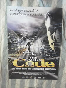 THE-OMEGA-CODE-1-SHEET-MOVIE-POSTER-MICHAEL-YORK