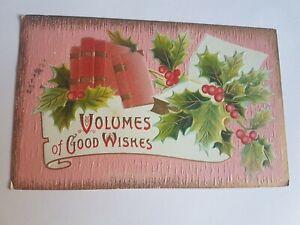 Greeting-Postcard-Vintage-Volumes-of-Good-Wishes