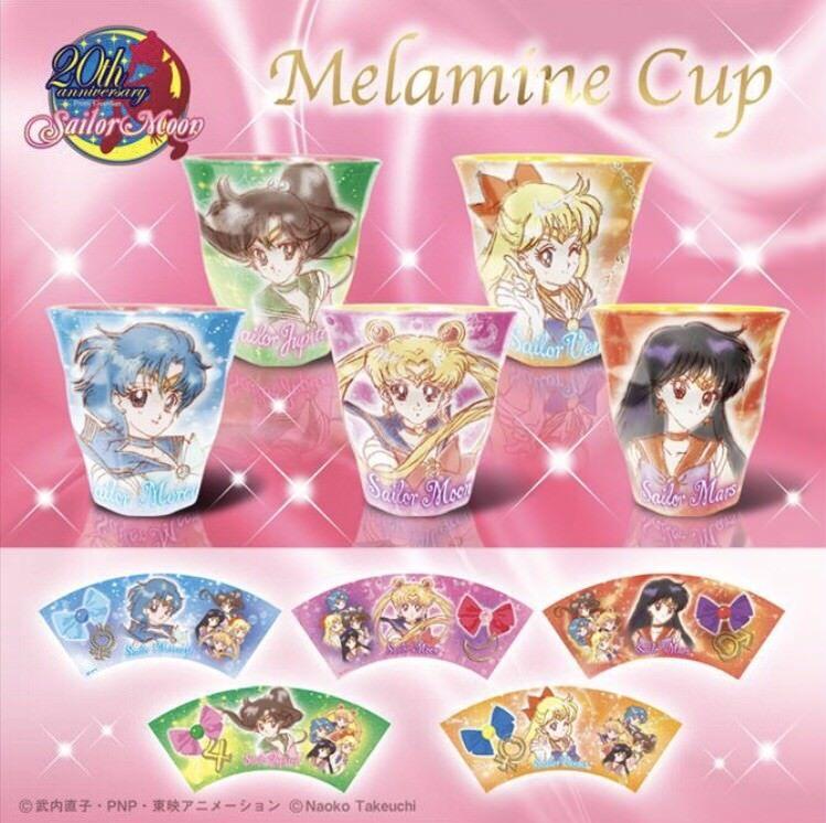 20th Anniversary Sailor Moon Melamine Cup Collection  Hasepro Beai Japan  negozio di moda in vendita