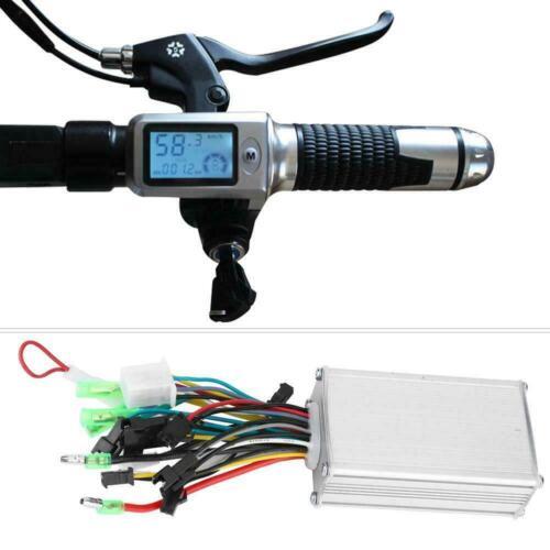 36V//48V Electric Bicycle E-bike Scooter Brushless Motor Controller LCD Panel Kit