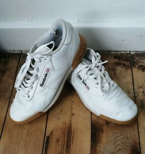 Mens Reebok Classic Trainers White Size