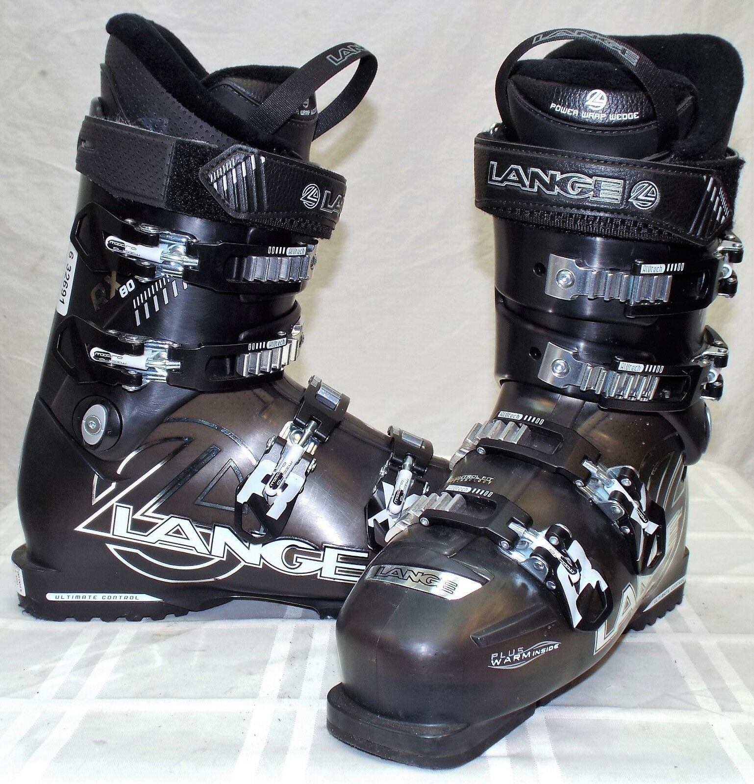 Lange RX 80 Used Women's Ski Boots  Size 25.5  up to 50% off