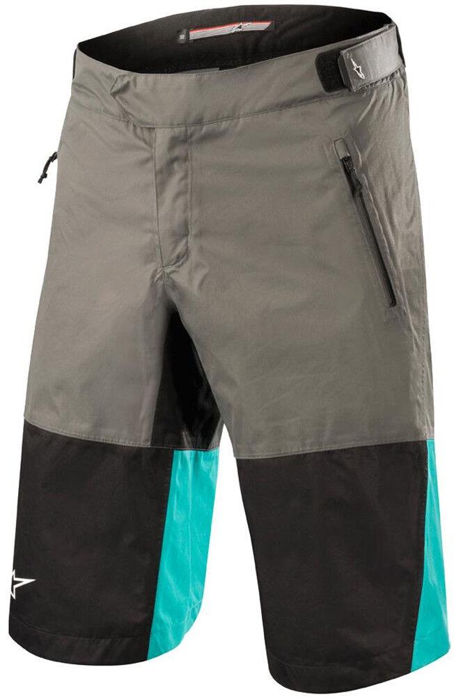 Alpinestars Tahoe Waterproof Mens Cycling Shorts - Grey
