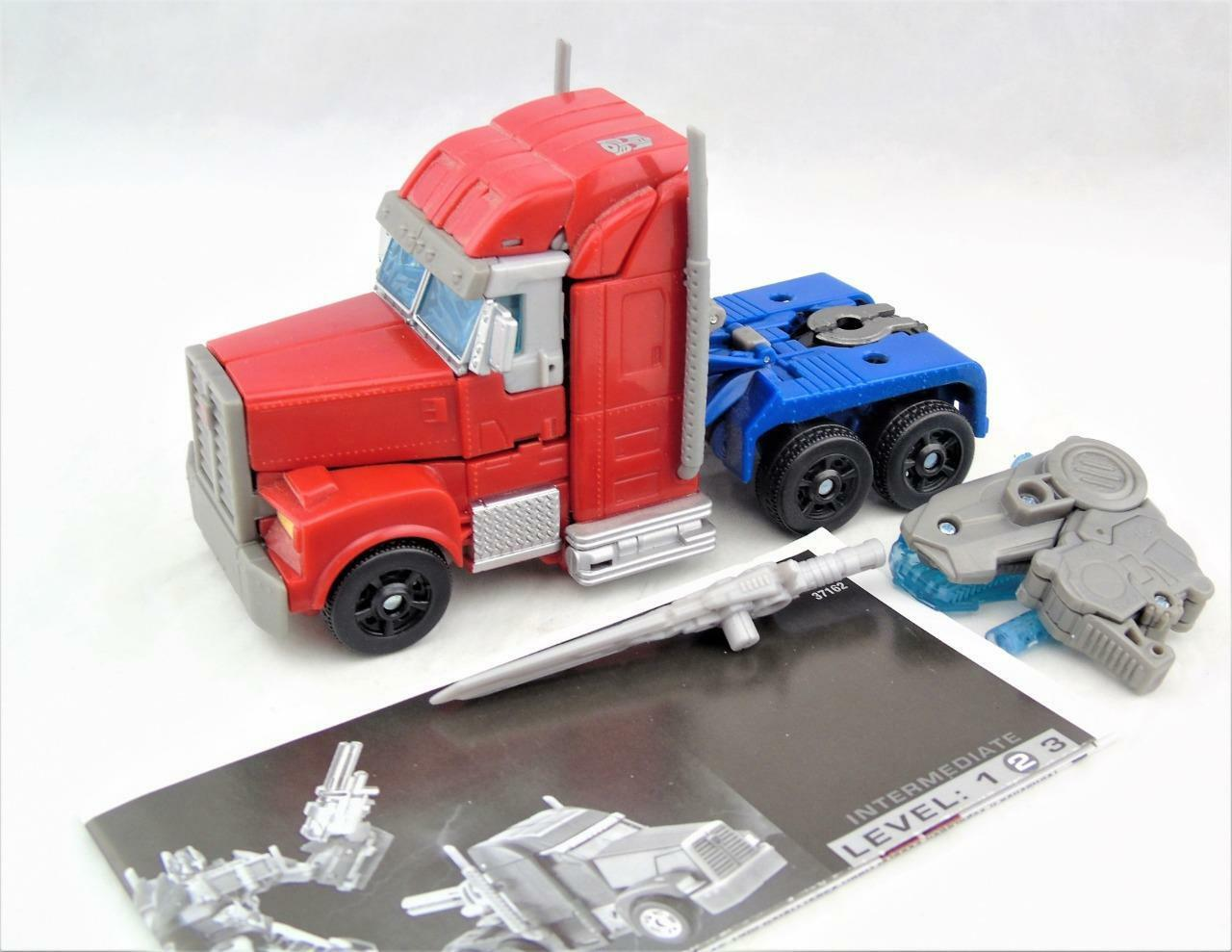 Transformers Prime Voyager Class Optimus Prime Figure Complete