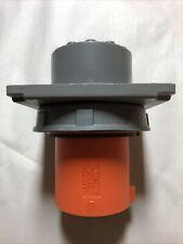 Hubbell 4100b12w 100 Amp 120250v Vac Generator Plug 4 Pole