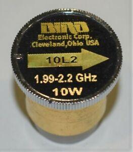 Bird Thruline 43 Wattmeter Slug Element - Type 10L2 - 10 Watts - 1.99 - 2.2 Ghz