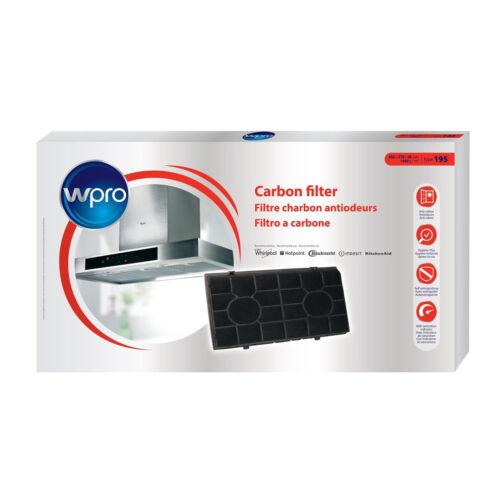 WPRO Universale in Carbonio Carbone Cappa Filtro-CHF190//1