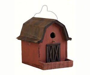 Brilliant Details About Decorative Bird House Birdhouse Little Red Barn Se925 Download Free Architecture Designs Scobabritishbridgeorg