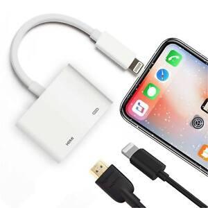 Kabel & Adapter Hell 8 Pin Lightning Zu Hdmi Digital Tv Av Adapter Kabel Für Apple Ipad Iphone 7 8 X