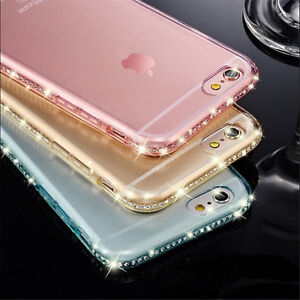Diamond-Glitter-Bling-Soft-TPU-Phone-Case-Sparkling-Cover-For-iPhone-5-6s-7-Plus
