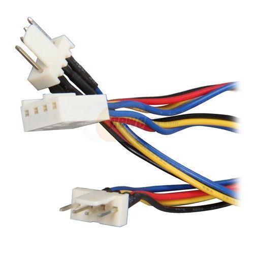 EverCool CB-PWM-Y-6 1 x 4PIN PWM F M Y SPlit Cable to 2 x 4Pin PWM