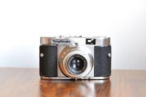 VOIGTLANDER-Vito-B-Color-Skopar-Faulty-Only-shutter-B-and-250-speed