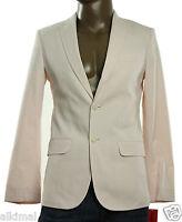 Mens Izod Fairy Tale Pinstripe Cotton Salwater Sport Coat Blazer Jacket S
