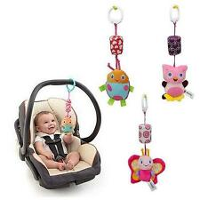 Large Baby Infant Animal Soft Rattles Bed Crib Stroller Music Hanging Bell Toy#M