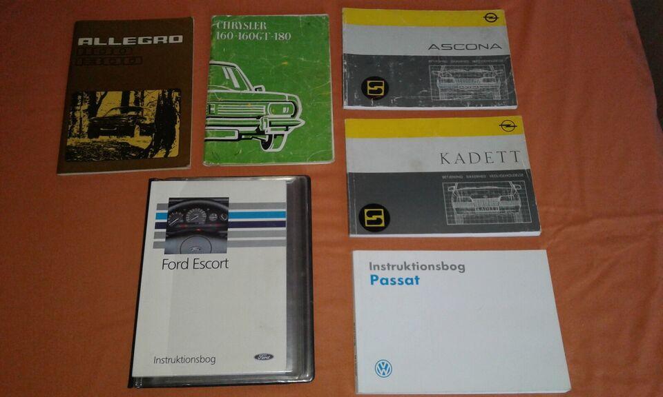instruktionsbøger   Austin Allegro 1100 1300 Ch...