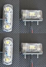 4x LED anteriore Targa Luci Camion LKW per DAF MAN SCANIA Renault
