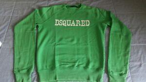 Colore Felpa Verde m Tg Dsquared zS4wZqxC