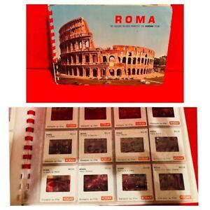 Vintage Rome Italy Kodak Picture Slides Roma Souvenir Old Photographs Travel The
