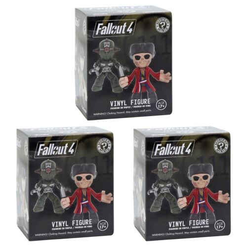 NUOVO 1 3 5 10 o 12 Fallout 4 Mystery Minis CIECO DI FIGURE Bethesda Ufficiale