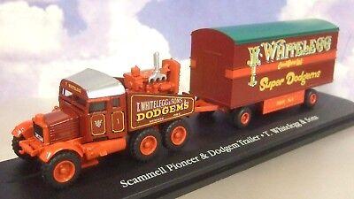 OXFORD//ATLAS 1//76 SCAMMELL PIONEER//TRAILER T.WHITELEGG /& SONS SUPER DODGEMS 107