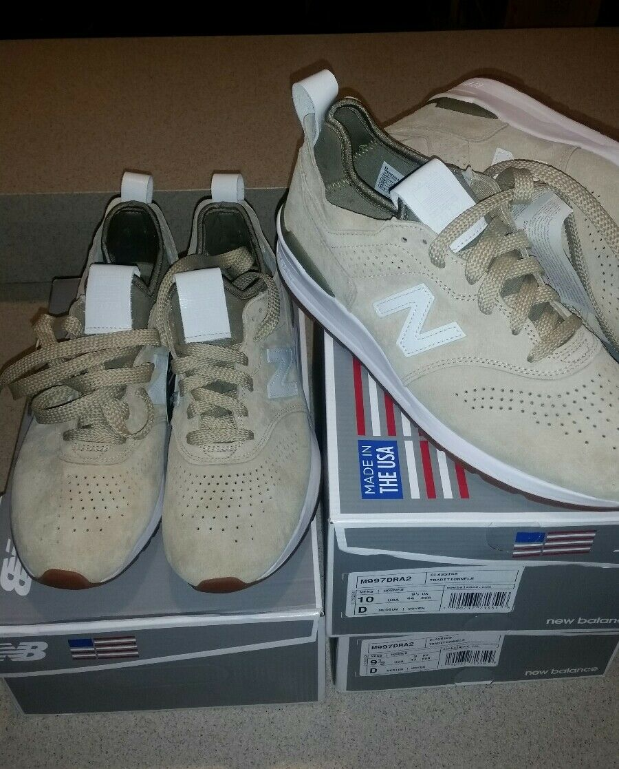 New Balance 997 USA Encap Running shoes Athletic Lifestyle Sneakers Beige 998 999