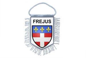 Flagge Mini Flagge Land Auto Deko Souvenir Wappen Frankreich Fréjus
