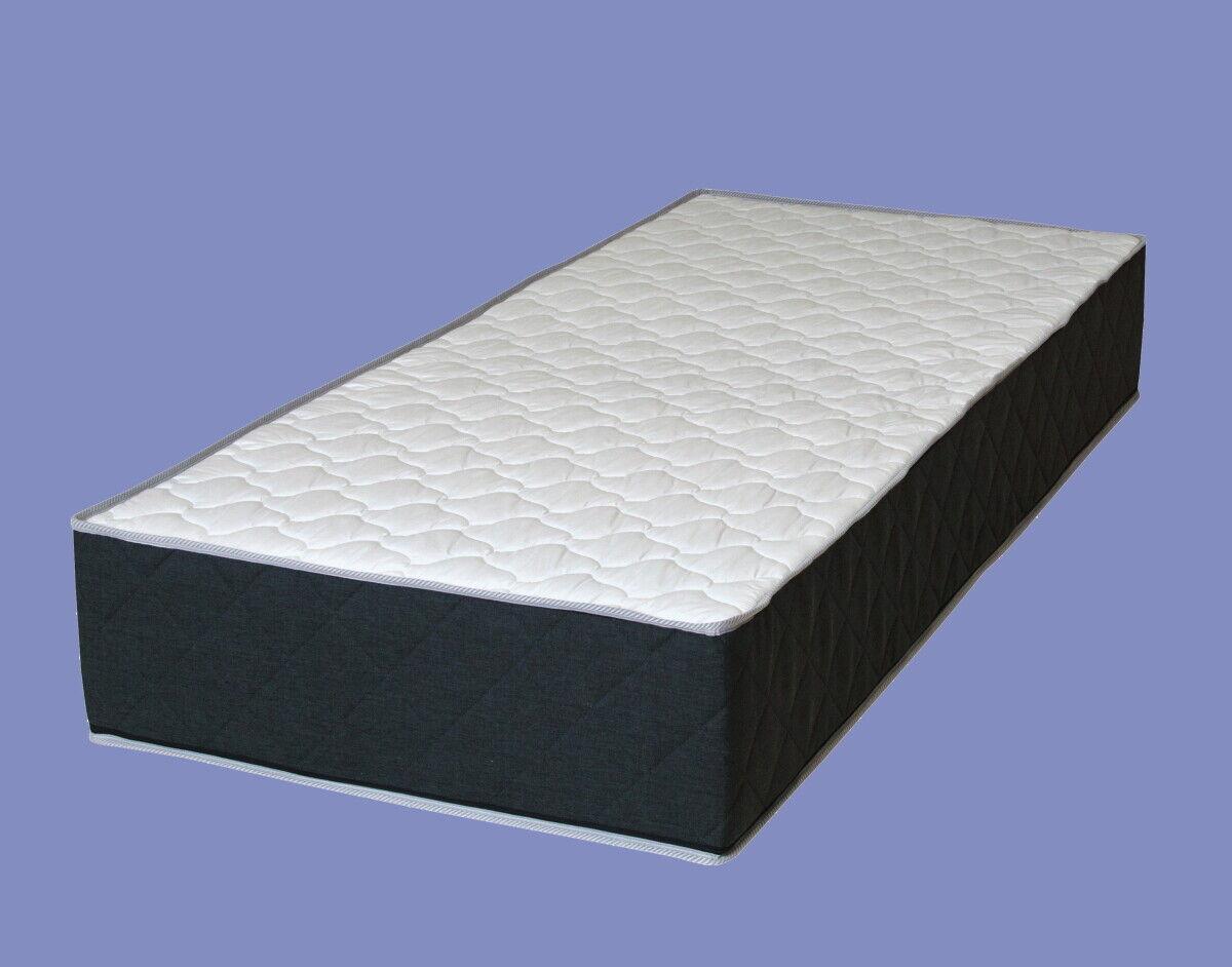 XXL 7 Zonen KALTSCHAUM MATRATZE Titan Luxus Höhe 30 cm H2 H3 fest Boxspring Bett
