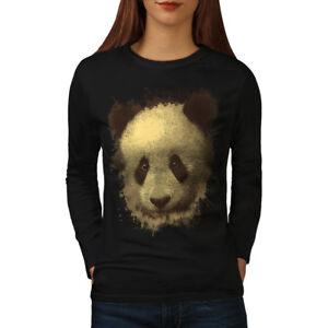 Bamboo Graphic Design Printed Tee Wellcoda Panda Bear Cute Animal Mens T-shirt