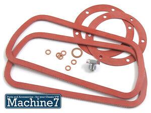 VW-Beetle-Engine-Silicone-Oil-Change-Sump-Rocker-Valve-Gasket-Seal-Kit-T2-Bug-T1